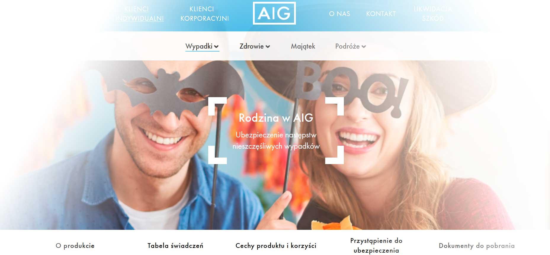 Ubezpieczenia na Życie AIG